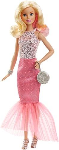 Barbie Fashion 33 cm roze jurk