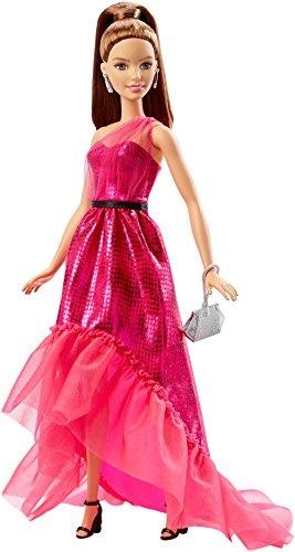 Barbie Fashion roze jurk 33 cm