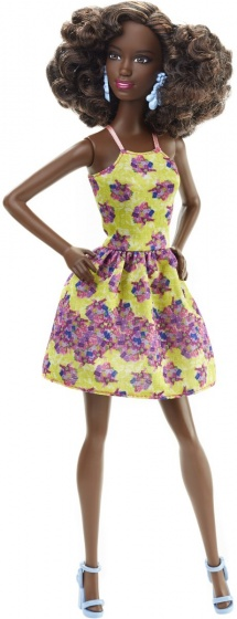 Barbie Fashionista tienerpop bloemenjurk 33 cm