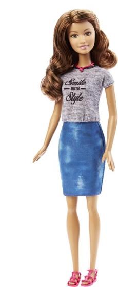 Barbie Fashionista tienerpop glimlach 33 cm