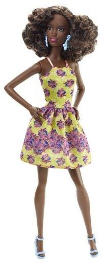 Barbie Fashionistas: bloemen jurk 29 cm