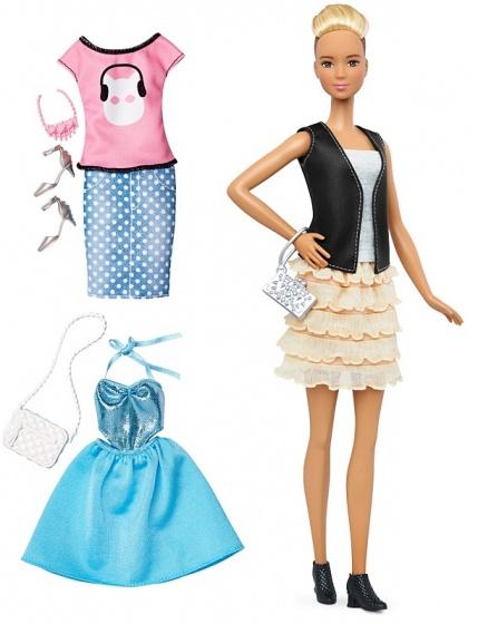 Barbie Fashionistas: tienerpop 33 cm 9 delig