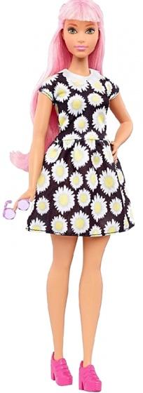 Barbie Fashionistas: tienerpop bloemenjurk 33 cm