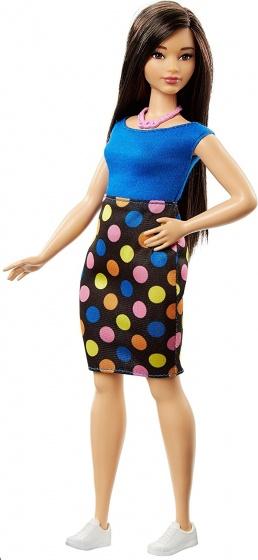 Barbie Fashionistas: tienerpop gestipte rok 33 cm