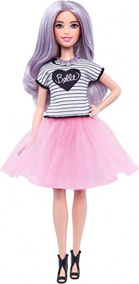 Barbie Fashionistas: tienerpop rokje roze 33 cm
