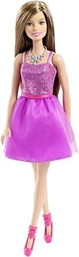 Barbie Pop Glitz doll paars 29 cm