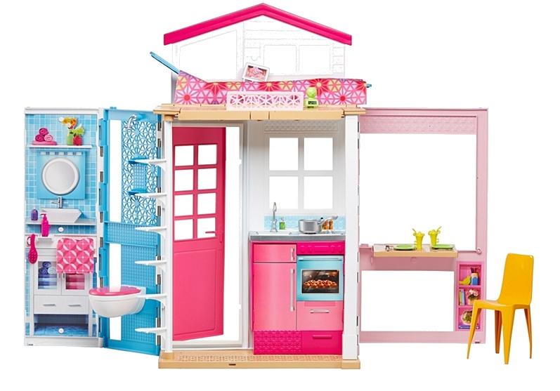 Barbie huis 13 x 33 x 45 cm