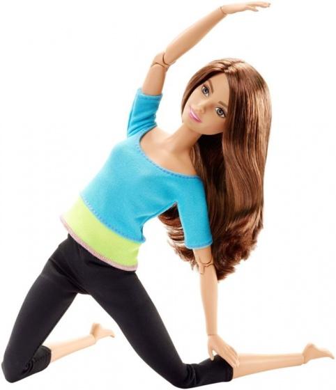 Barbie made to move pop 33 cm blauw