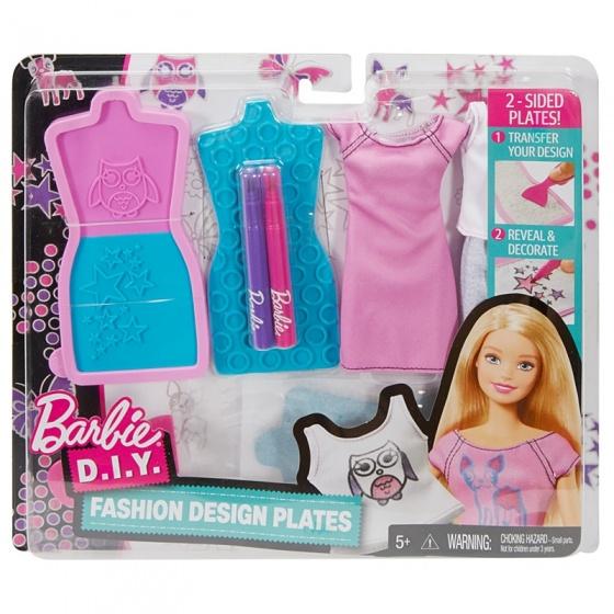 Barbie ontwerpstudio paars 9 delig