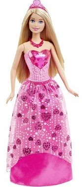 Barbie prinses edelstenen 33 cm