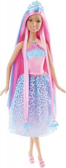 Barbie prinses Wonderlokken Woud 33 cm blauw
