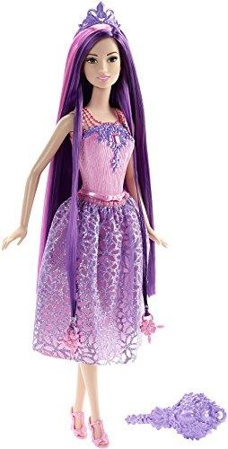 Barbie prinses Wonderlokken Woud 33 cm paars