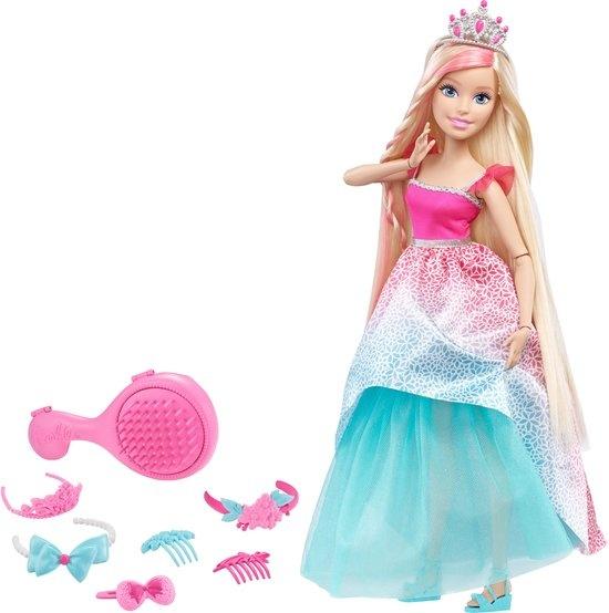 Barbie prinssenpop Wonderlokken Woud 42 cm