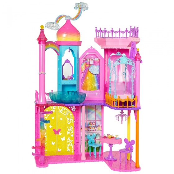 Barbie regenboogkasteel speelset 41 x 17 x 64 cm