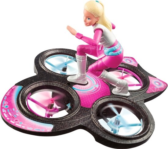 Barbie Star Light Avontuur Hoverboard met Pop 33 cm