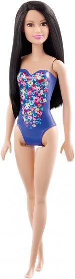 Barbie tienerpop badpak paars 33 cm
