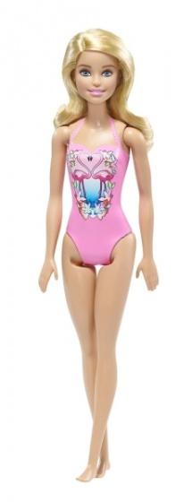 Barbie tienerpop badpak roze 33 cm