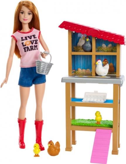 Barbie Tienerpop boerin met accessoires 30 cm