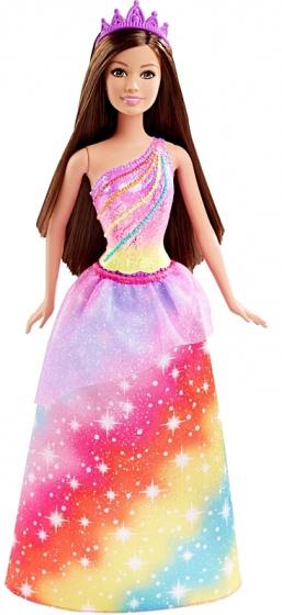 Barbie tienerpop regenboogprinses 33 cm