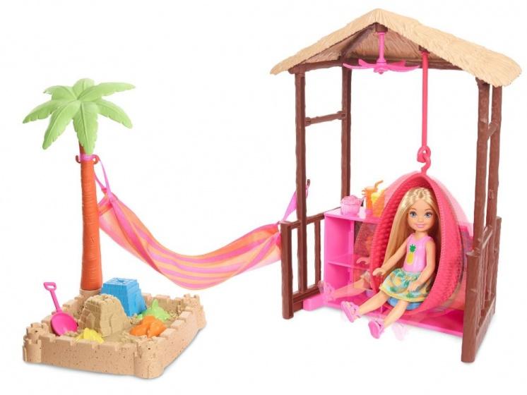 Barbie tienerpop Shelly op het strand 13 cm