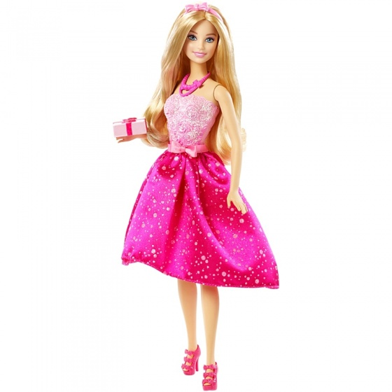 Barbie verjaardagspop 33 cm