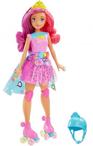Barbie videogames tienerpop met ingebouwd spel 33 cm