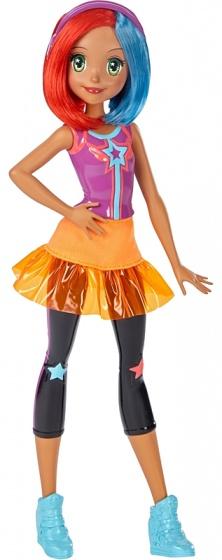Barbie videogames tienerpop paars 33 cm