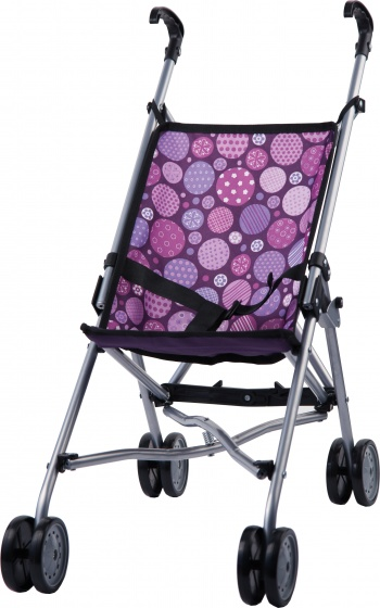 Bayer buggy Dolls 55 cm paars