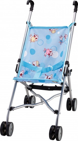 Bayer buggy Dolls Blue VE 12 55 cm lichtblauw