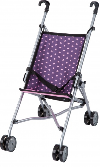 Bayer Dolls Buggy 55 cm paars