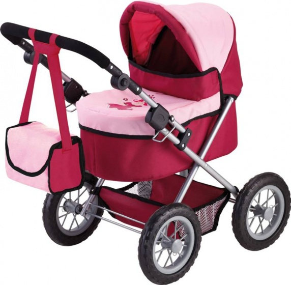 BAYER DESIGN Poppenwagen + luiertas Trendy prinses