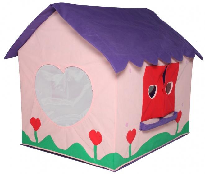 Bazoongi Kids speeltent Poppenhuis 97 x 76 x 112 cm roze/paars