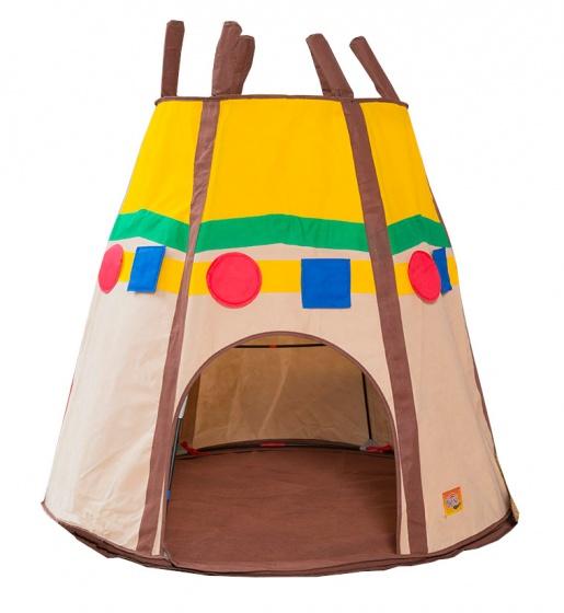 Bazoongi Kids speeltent Tipi 78 x 122 x 108 cm bruin