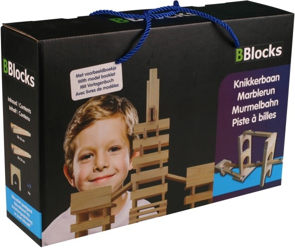 BBlocks Houten Knikkerbaan