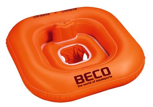 Beco babyzwemzitje Sealife 78 x 78 cm oranje