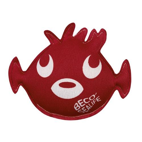 Beco duikdier Pinky 12 x 9 cm rood