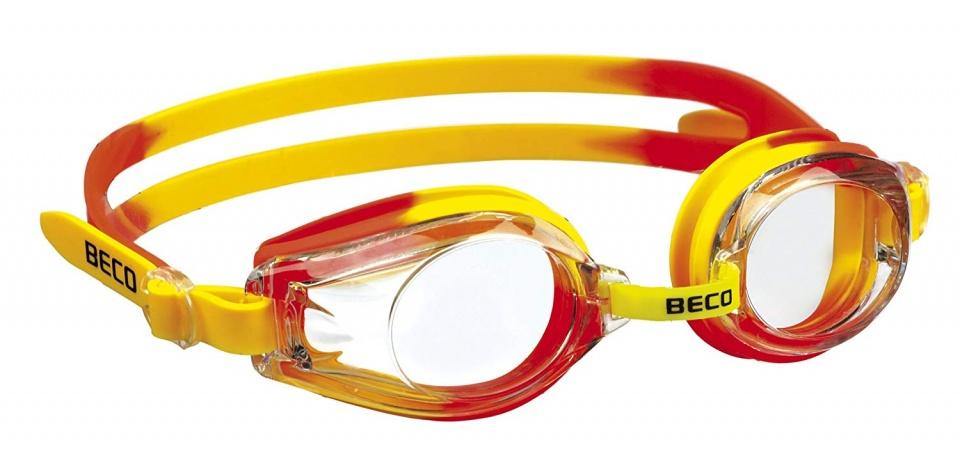 Beco zwembril Rimini polycarbonaat junior geel/oranje