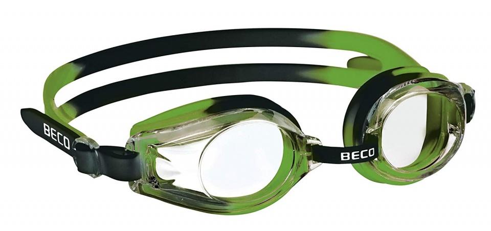 Beco zwembril Rimini polycarbonaat junior groen/zwart