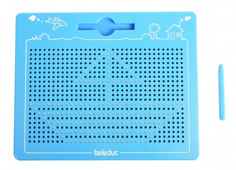beleduc magnetisch tekenbord 28 cm blauw