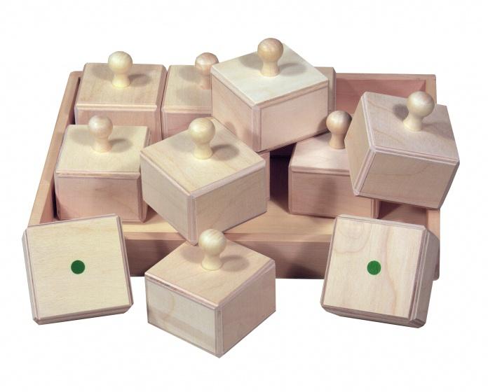 beleduc muziekspel houten blokken 12 stus