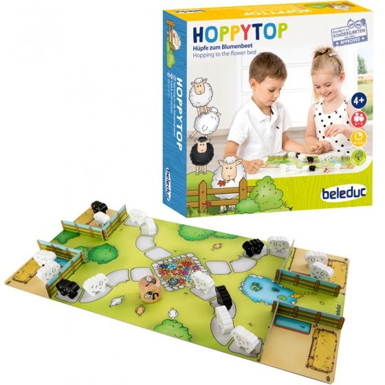 beleduc spel Hoppytop