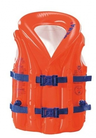 Bema opblaasbaar zwemvest junior oranje