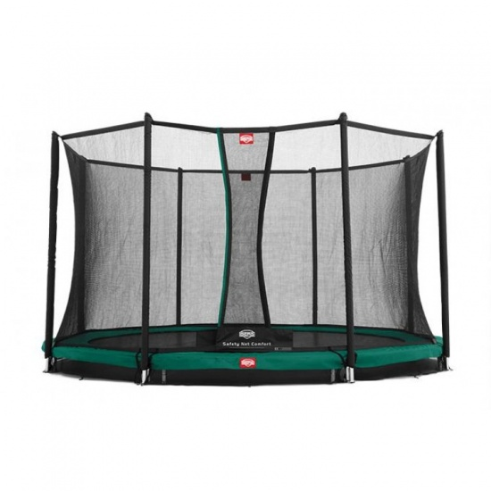 BERG Trampoline Favorit Inground met Safety net 380 cm groen