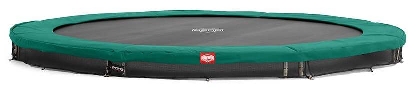 BERG Trampoline Inground Favorit 380 cm groen