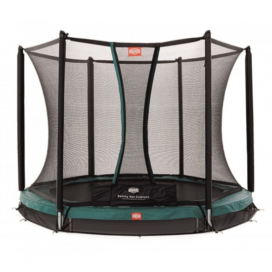 BERG Trampoline Inground Talent met Safety net 240 cm groen