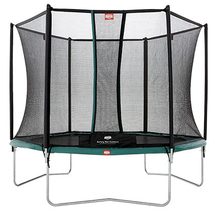 BERG Trampoline Talent met Safety net Comfort 244 cm groen