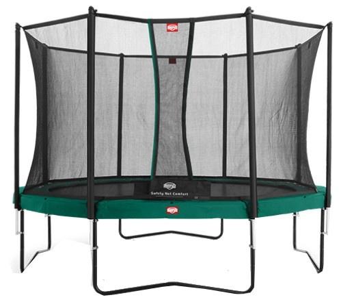 BERG veiligheidsnet Comfort voor trampoline 380 cm zwart