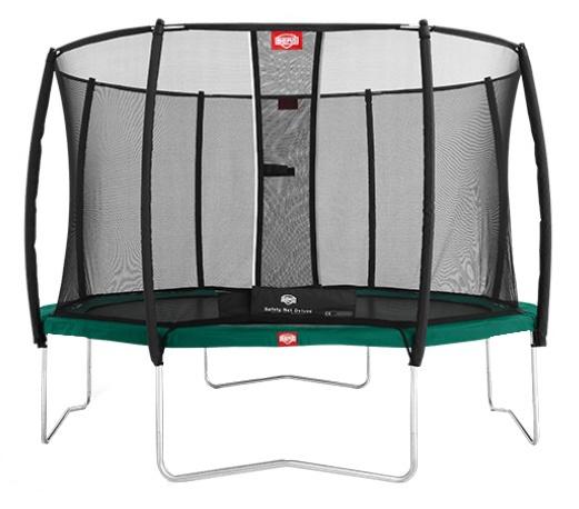 BERG Veiligheidsnet Deluxe voor trampoline 380 cm zwart