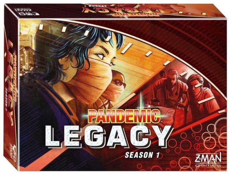 Z Man Games Pandemic Legacy Red gezelschapsspel