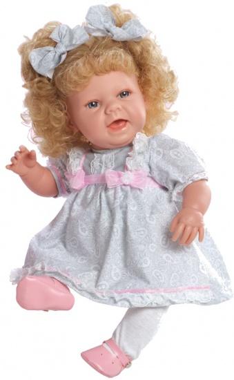 Berjuan Pop Baby Sweet 50 cm grijs